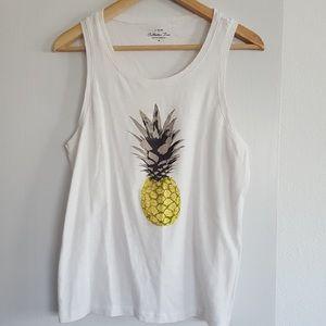 JCrew Pineapple Tank